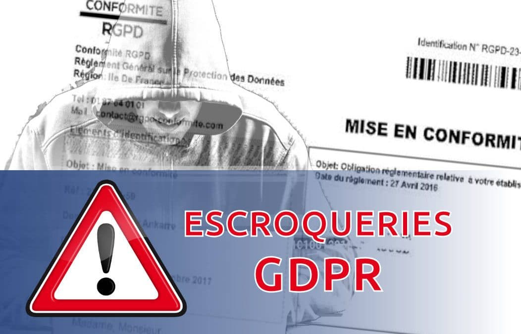 Attention aux arnaques GDPR