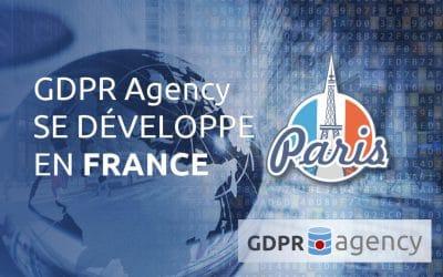 GDPR Agency développe ses activités et crée une agence à PARIS